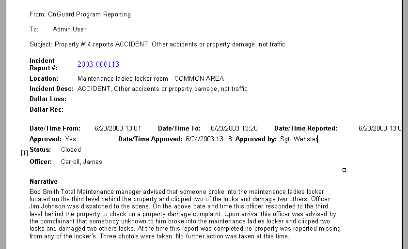 Doc12751650 Accident Reports Template Incident Accident – Sample of Incident Report Format